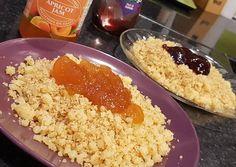 Egyszerű császármorzsa Grains, Food And Drink, Rice, Dishes, Recipes, Desk, Desktop, Tablewares, Recipies