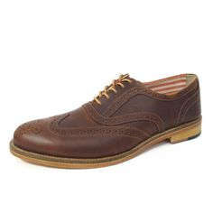 J Shoes Charlie Glow  Charlie by J Shoes. A sophisticated men's lace up burnished leather brogue with a tapered toe shape, stacked leather heel and real leather sole. A refined classic with a modern edge. Rowansky.com #iwishforapp  http://iWishfor.com