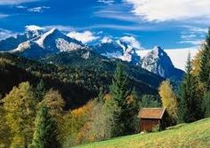 Bavarian Alps (Germany)  Lived there for 10 years and loved it.  Nice memories