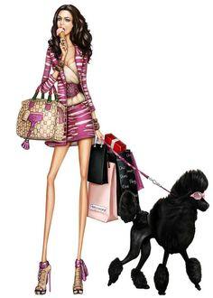 ¸_¸ . ♫✶*✫ ه `♥♪♫✫♥ Pergamino ♥˙·٠ Fashion Illustration Sketches, Illustration Mode, Fashion Design Sketches, Hayden Williams, Love Fashion, Fashion Art, Girl Fashion, Paper Fashion, Moda Chic