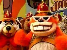 The Banana Splits – Nostalgia Show Classic Cartoon Characters, Classic Cartoons, Old Tv Shows, Kids Shows, Gifs, Nostalgia, Morning Cartoon, Childhood Days, Kids Tv