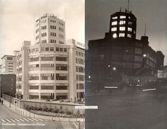 Philips Emmasingel, Eindhoven. Nu bekend als Witte Dame. Sinds wanner kreeg dit gebouw deze naam.