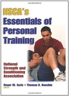 14 best nsca nasm acsm images on pinterest ejercicio exercise nscas essentials of personal training by nsca national strength conditioning association 3440 fandeluxe Image collections