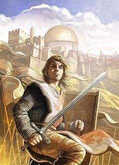 Baudouin IV - le brave roi de Jérusalem
