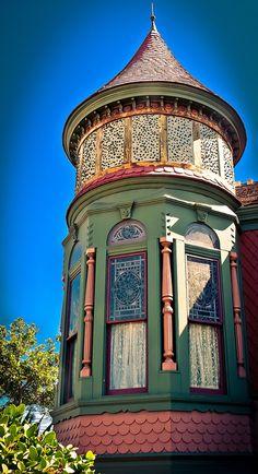 Victorian Spire, Villa Montezuma Museum, San Diego, CA
