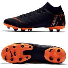 Nike Superfly 6 Academy MG Soccer Shoes (Black/Orange): https:/