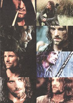 Tolkien gave me unrealistic expectations for men... Aragorn is what every man should be.