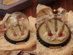 アンティークガラスドームパフュームボトルフランスc 285 インテリア 雑貨 家具 Antique glass bottles ¥31500yen 〆04月30日