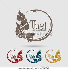 Thai Art vector