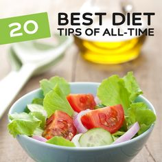 A great list of diet tips to help you lose lose weight in a healthy, and happy way. If your sick of fad diets that never stick, you need to take a look at these.