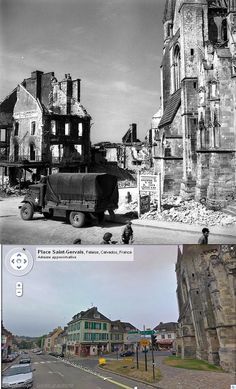 Then and now... Falaise