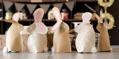 Easter Bunnies - Paper Couture