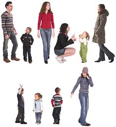 DOSCH DESIGN - DOSCH 2D Viz-Images: People - Family