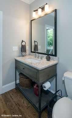 Guest bathroom from