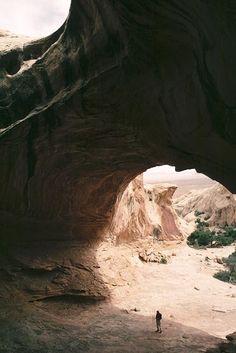 Wild Horse Window, San Rafael Reef near Goblin Valley State Park, Utah. Photo by David Brandt-Erichsen Bryce National Park, National Parks, Solo Travel, Travel Usa, Goblin Valley, Utah Adventures, Utah Hikes, Best Hikes, Family Adventure