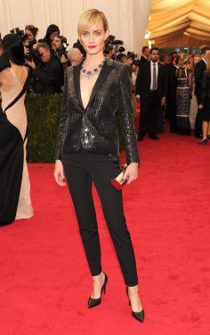 Amber Valletta @ The Met Gala 2014