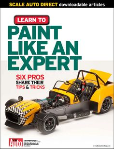 Find out what the experts think about lacquer, enamel, spray painting, airbrushing, and more! Modeling Techniques, Modeling Tips, Model Cars Building, Making A Model, Plastic Model Cars, Car Magazine, Model Airplanes, Working Area, Painting Tips