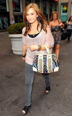 Seen on Celebrity Style Guide: Demi Lovato FOX and Friends August 18, 2010