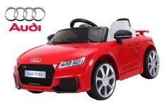 Elektro Auto Audi TTRS Kinderfahrzeug lizenziert Akku 2 Motoren ...