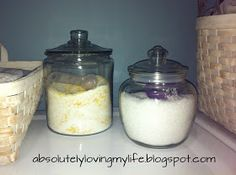 Loving Life: DIY Fabric Softener Crystals