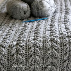 The Alpine Cable Blanket pattern creates a gorgeous, knit-look throw, perfect for your couch or bed. Pattern includes instructions to use this same stitch to create a cowl or headwrap of desired size. Includes size chart for head circumference for sizes baby to adult ladies.