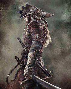 "5,625 Likes, 8 Comments - Samurai Era (@samurai_era) on Instagram: ""Samurai. Tag the Artist if you know him! #samurai #asia #japan #katana #shuriken #arrow #mortal…"""