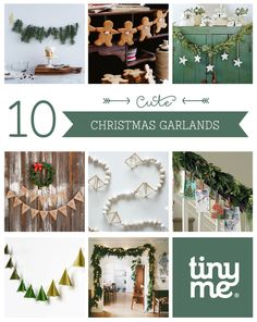 10 Cute Christmas Garlands ~ Tinyme