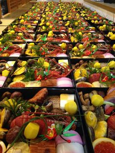 Osechi Ryouri (cooking) is typical Japanese cuisine for celebrating the New Year. People prepare it before the end of year, and then enjoy it from January 1st.  photo by Uotsugu, Tateishi, Tokyo