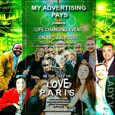MyAdvertisinPays France convention was a huge success. Thank you Christian. #Love #Paris