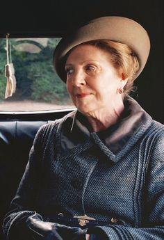 Penelope Wilton Mrs. Isobel Crawley Downton Abbey Series Season 5.3
