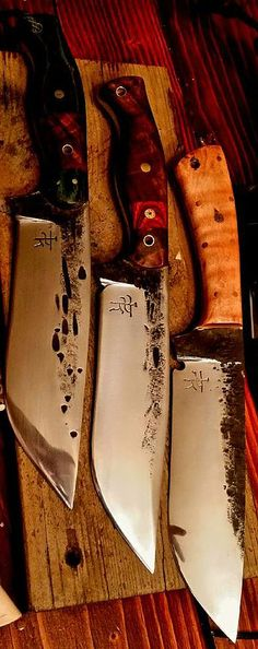 Dark Timber Custom Knives custom made knives and handmade knives | Camp Knives