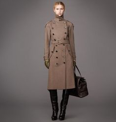 Coat Womens Wool Cashmere Kingston Coat Belstaff