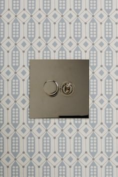 Our Nickel collection has a luxurious appearance which is warmer than chrome, making it more suitable for living areas either traditional or modern. . . #lightswitches #lighswitch #lighting #wallpaper #vintagelightswitch #nickel #lighswitch Light Switches And Sockets, Vintage Light Switches, Nickel Silver, Polished Nickel, Decorative Items, Chrome, Plating, Mirror, Sterling Silver
