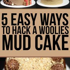 We Made Woolies Mud Cakes Look Fucking Fancy