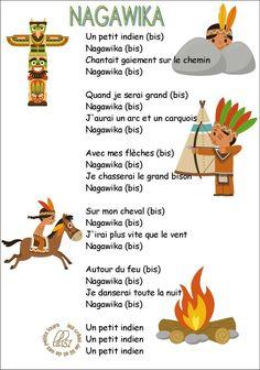 Comptine Nagawika petit indien