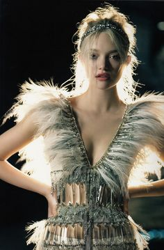 Gemma Ward by Patrick Demarchelier