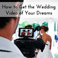 This is a super smart idea for brides looking to hire a videographer or get an affordable wedding video
