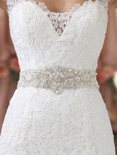 Style No. BELT11414 » David Tutera for Mon Cheri » wedding dresses 2013 and bridal gowns 2014