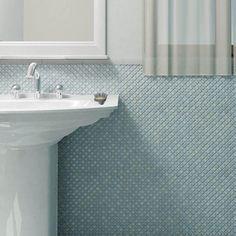 Merola Tile Hudson Diamond Marine 12-3/8 in. x 12-3/8 in. x 5 mm Porcelain Mosaic Tile-FKOBRL33 - The Home Depot