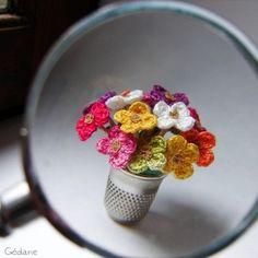 Crochet Tiny Flowers
