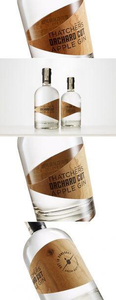 Thatchers Orchard Cut Apple Gin — The Dieline | Packaging & Branding Design & Innovation News