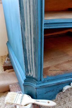 Flow Blue & white wax