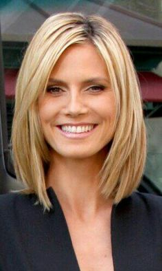 Ageless long bob