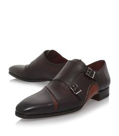Magnanni Opanka Double Monk Strap Shoes | Harrods