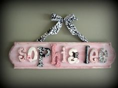 Baby name sign like the name sophia