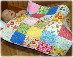 doll quilts to make - Bing Images - to fit Bitty Baby (American Girls doll)