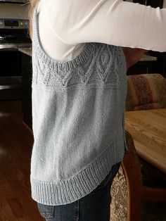 Ravelry: Project Gallery for #21 Cabled Colorblock Vest pattern by Pat Olski