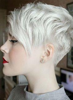 100 Short Hairstyles for Women: Pixie, Bob, Undercut Hair | Fashionisers #PixieHairstylesFunky