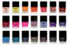 Butter London, the perfect marriage of good design, colour and non-toxic ingredients. Need to get my fix from Isabel Harris.