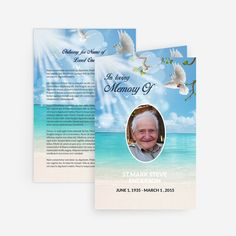 73 best printable funeral program templates images on pinterest dove printable funeral card for microsoft word prayer cards for funeral memorial cards for funeral maxwellsz